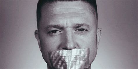 tommy robinson s arrest quickly scrubbed from internet