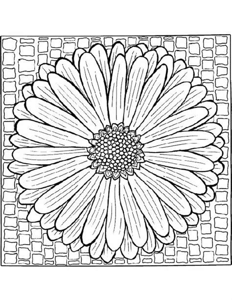 Vierkant Kleurplaat by Kleuren Nu Mandala Bloempatroon Kleurplaten