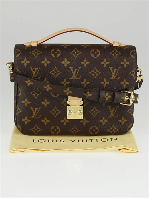louis vuitton monogram canvas pochette metis bag yoogis