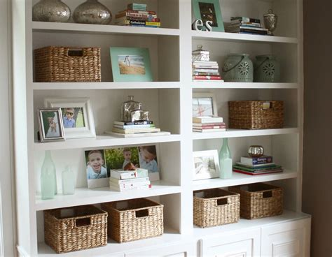 Decorating With Bookcases by The Yellow Cape Cod How To Match A Potterybarn Distressed