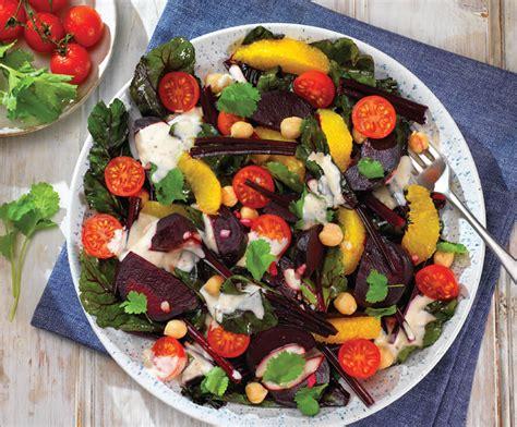 Krēmīgie biešu salāti ar aunazirņiem - Great Taste Club