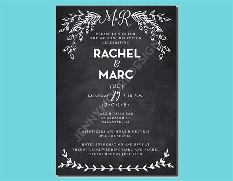 FREE 16+ Wedding Party Invitation Designs & Examples in