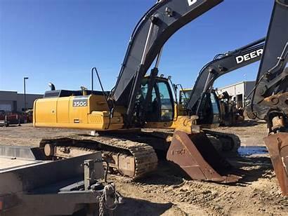 Deere John Excavator 350g Wallpapers