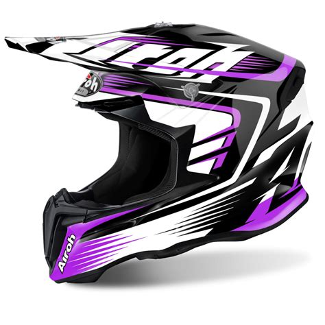 pink motocross helmets airoh twist motocross helmet mix pink gloss motorcycle