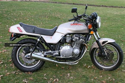 Suzuki Gs 1100 by 1982 Suzuki Gs 1100 E