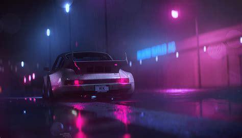 Neon Nights (x-post R/wallpapers)