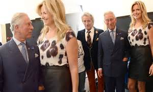 Penny Lancaster Towers Over Prince Charles As She Joins
