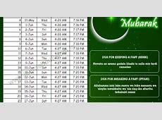 Ramadan Timings 2017 Sehri Timings and Iftar Timings