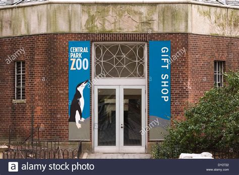 entrance to the central park zoo gift shop located in