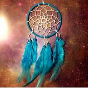 Blue dream catcher  fa...