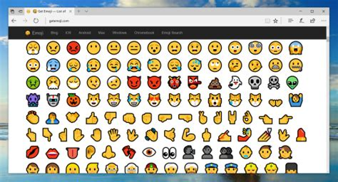Emoji Blog • How To Use Emojis On Windows 10 (updated 2017