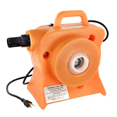 air supply 4128100 cyclone liner vac bypass pool line blower