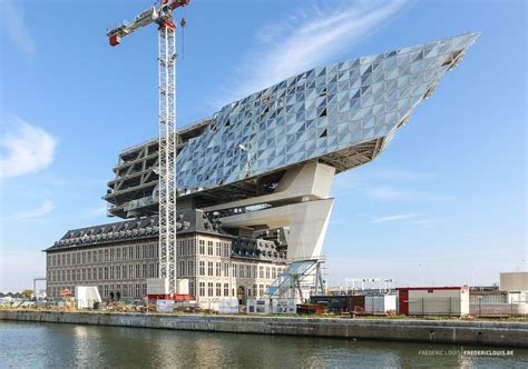 New Port House Of Antwerp By Zaha Hadid Architects