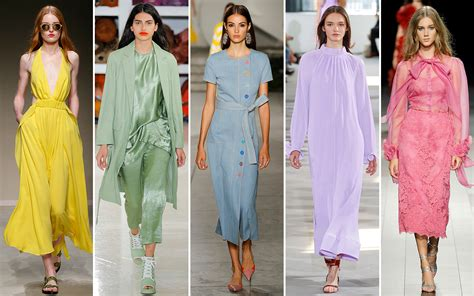 The Ten Color Trends For Spring Summer 2018