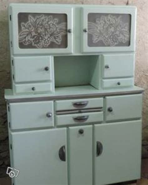 dcoration cuisine vintage in retro style furniture and