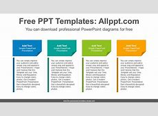 Confetti textboxes PowerPoint Diagram Template