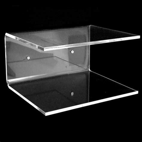 mensola plexiglass mensola sospesa in plexiglass trasparente 35x25x15 xlab