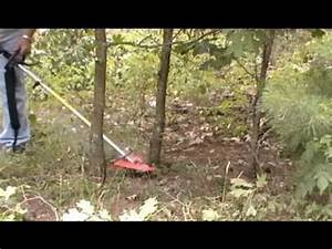 Stihl Km 130 Trimmer With Circular Saw Blade   Brushcutter