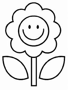 Flower Coloring Pages Kids - Flower Coloring Page