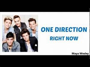 One Direction - Right Now (Lyrics and Pictures) (Album ...