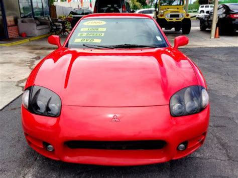 buy car manuals 1999 mitsubishi gto electronic toll collection sell used 1999 mitsubishi 3000gt 74k miles 5 speed manual clean carfax florida car in fort