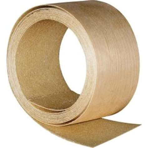 oak veneer home depot band it 2 in x 8 ft red oak veneer edgeband 971993 the home depot