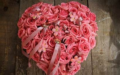 Flowers Heart Rose Flower Ring Wallpapers Wallpaperup