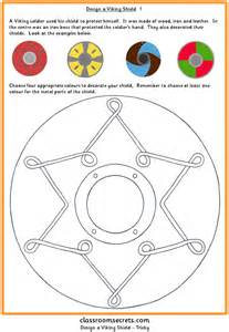 multiplication number stories design a viking shield classroom secrets