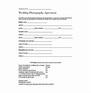 23 simple contract template and easy tips for your With simple wedding photography contract template