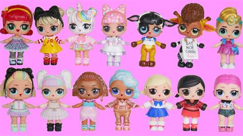 lol surprise dolls wrong heads family dress