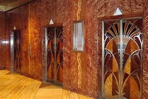 NYC - Midtown: Chrysler Building - Elevator Hall | The ...