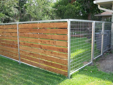 yard fencing wood fences