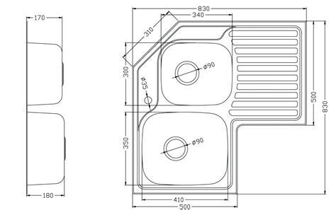 corner kitchen sink dimensions corner kitchen sink cabinet dimensions measurements file 5850