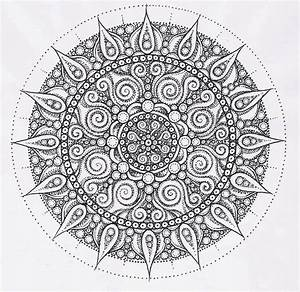 Intricate Mandala Coloring Pages Coloring Home