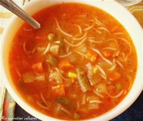 soupe aux legumes express et facile paperblog
