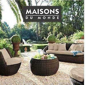 Salon Jardin Maison Du Monde : decoration jardin maison du monde ~ Melissatoandfro.com Idées de Décoration