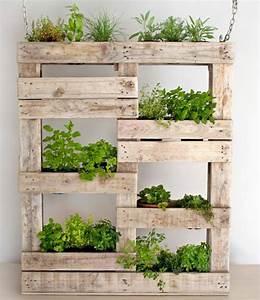 Mur Végétal En Palette : 1001 tutoriels et id es pour fabriquer une jardini re en palette jardiniere en palette mur ~ Melissatoandfro.com Idées de Décoration