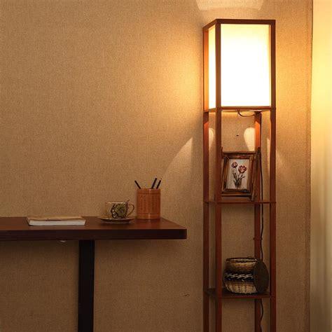 walmart floor ls with shelves shelf floor l threshold floor shelf l with ivory shade