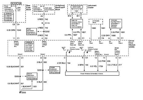 Pontiac Montana Power Window Wiring Diagram by Repair Guides Doors 2000 Door Module