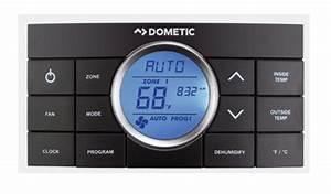 Dometic 3314082 000 Black Comfort Control Center Ii