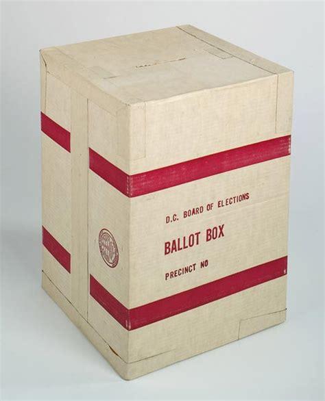 ballot box wikipedia