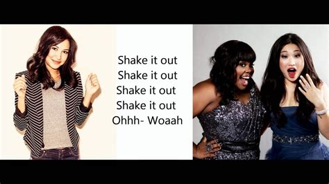 glee shake   lyrics youtube