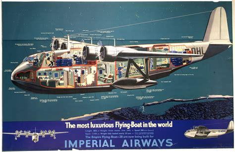 Boat In The World by Imperial Airways The Most Luxurious Flying Boat In The
