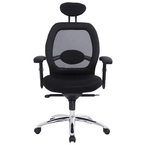 fauteuil bureau tissu fauteuil de bureau cardinal en tissu maille noir
