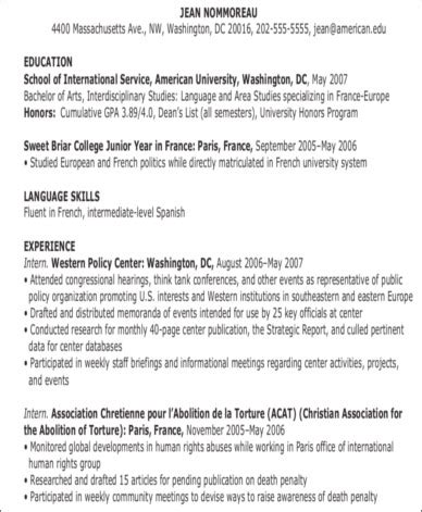 Chronological Resume With No Work Experience by No Experience Here S The Resume