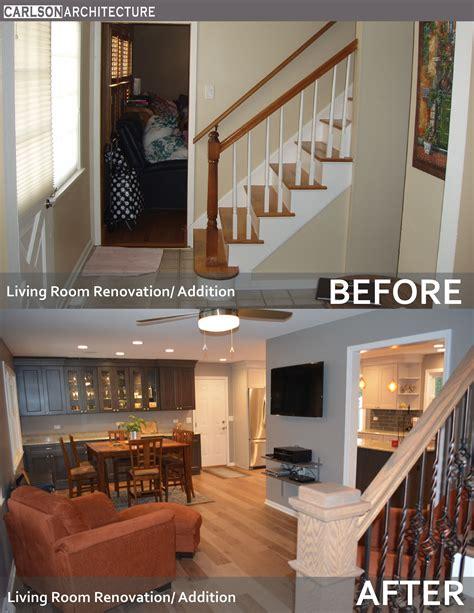 living room renovation wall mounted flat panel tv open