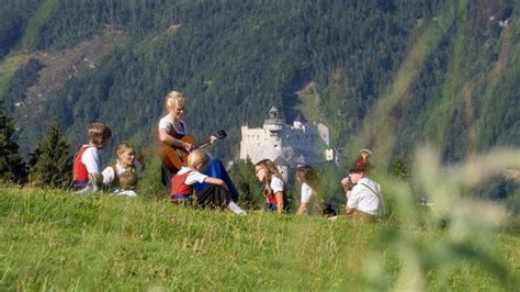 It was so well received that it played for eight years, making you can run beside maria and the kids in the sound of music meadow near salzburg. Sound of Music fans can twirl on a hilltop like Maria on a ...