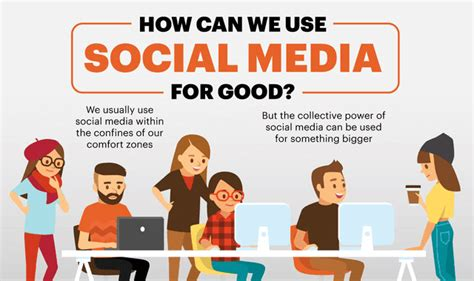 How Can We Use Social Media For Good? #infographic