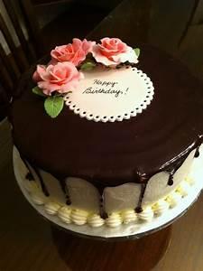 Chocolate Ganache birthday cake - Cake by jiffy0127 ...