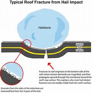 Hail Roof Damage Diagram